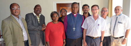 Board of GtC with the archbishop